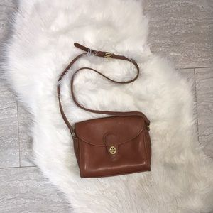 Coach Vintage All Leather Bag from 1980's